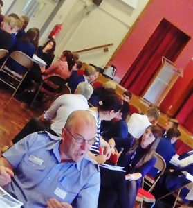 speed networking event at Carlton Le Willows